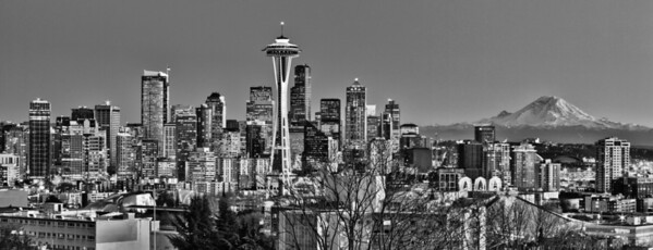 View from Kerry Park (captured on 02/01/11)